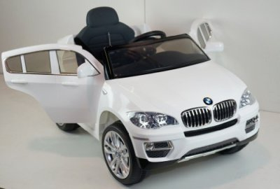 New-2015-Licensed-BMW-X6-12v-Kids-Ride-on-Power-Wheels-Battery-Remote-Control-Toy-Car-White-Gift-Mp3-Player