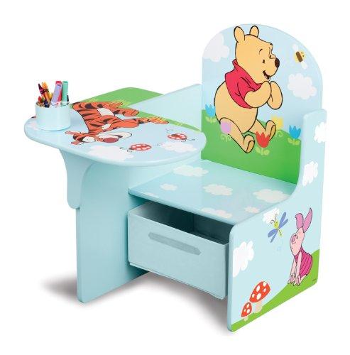 Disney Winnie Pooh Sitzbank Bank Tisch Stuhl Aufbewahrung 3in1 Sitzpult Möbel NEU