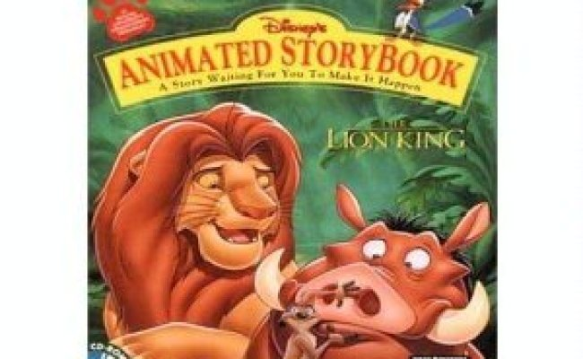 Amazon The Lion King Animated Storybook Software