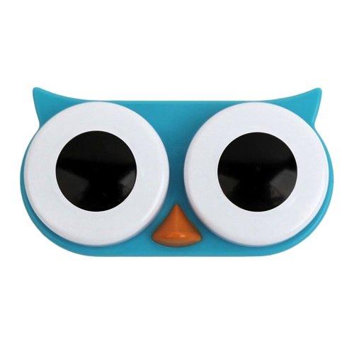 Kontaktlinsenbehälter SWEET OWL blue