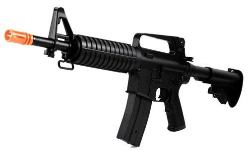 450 FPS 2011 JG Full Metal M4 Commando AEG Airsoft Rifle
