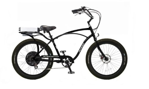 Buy Pedego Interceptor Classic Cruiser Black Tire/Seat Package: Black Balloon