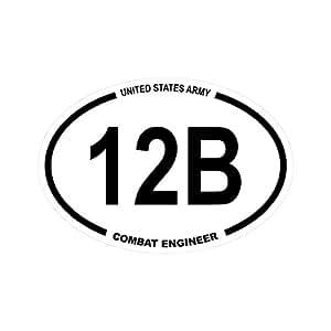 Amazon.com: United States Army MOS 12B Combat Engineer