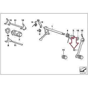 Amazon.com: BMW Genuine Foot Gear Shift Shifting Lever