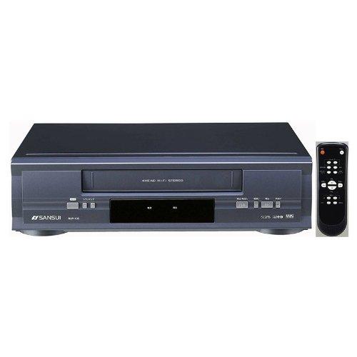 SANSUI 再生専用VHSビデオプレーヤー RVP-100 | 19ミクロン4ヘッド方式 | リモコン付