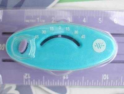WESTCOTT レーザーガイドルーラー パープル 5073pr