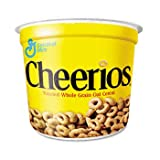Cheerios Breakfast Cereal, Six Single-Serve 1.3oz Cups(6-Pack)