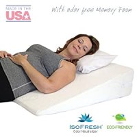 "Amazon.com: Acid Reflux Wedge Pillow (32""x30""x7"") with"