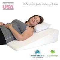 "Amazon.com: Acid Reflux Wedge Pillow (32""x30""x7"") with ..."