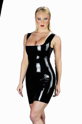 Latex Kleid sexy für Sie Schwarz T:M/38