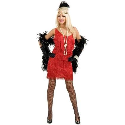 Fashion Flapper Costume - Plus Size 1X - Dress Size 18-22 - Randenwann