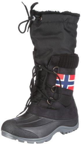 San Bernardo 80-Getty Get-s, Damen Stiefel, Schwarz (schwarz), EU 42