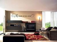 Amazon.com: Mi casa es su casa - Vinyl Wall Art Decal ...
