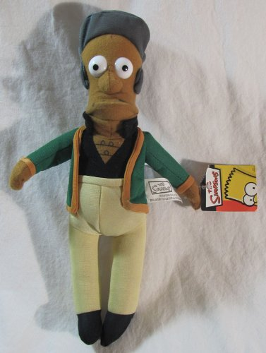 Simpsons Apu Nahasapeemapetilon 12in Plush Doll