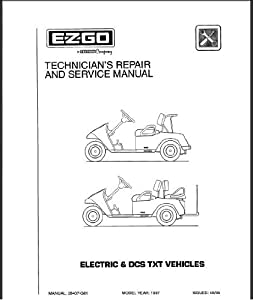 Amazon.com : EZGO 28407G01 1997-1998 Technician's Service