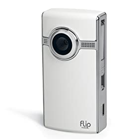 Flip UltraHD Camcorder, 120 Minutes (White)