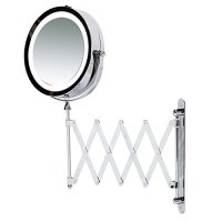 Kenley Wall Mounted Magnifying Makeup Mirror with LED ...