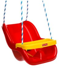 Fisher-Price Infant To Toddler Swing in Red, Free Shipping ...
