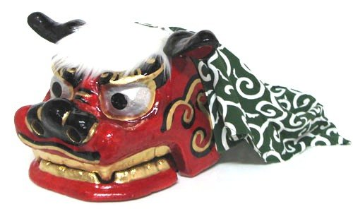 民芸品 縁起物 獅子・しし 獅子頭 (特大)