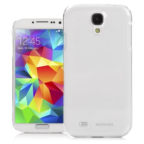 KAYSCASE Slim Hard Shell Cover Case for Samsung Galaxy S5 Smart Phone (Lifetime Warranty) (Clear)