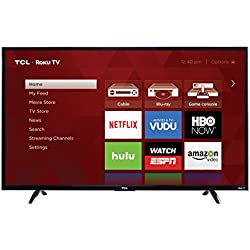 TCL 55UP130 55-Inch 4K Ultra HD Roku Smart LED TV (2016 Model)