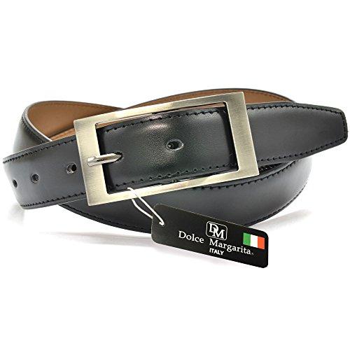 (ドルチェ マルガリータ)Dolce Margarita dm-04-a-bk ベルト メンズ 本革 イタリアベルト ブランド サイズ調整可能 レザー 41DIDDjF5hL