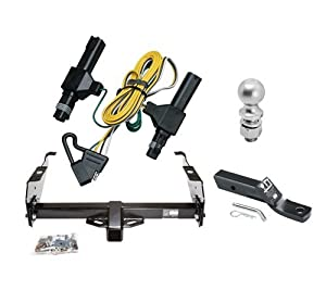 Amazon.com: Class 3 Trailer Hitch Receiver Tow Kit w/ 2