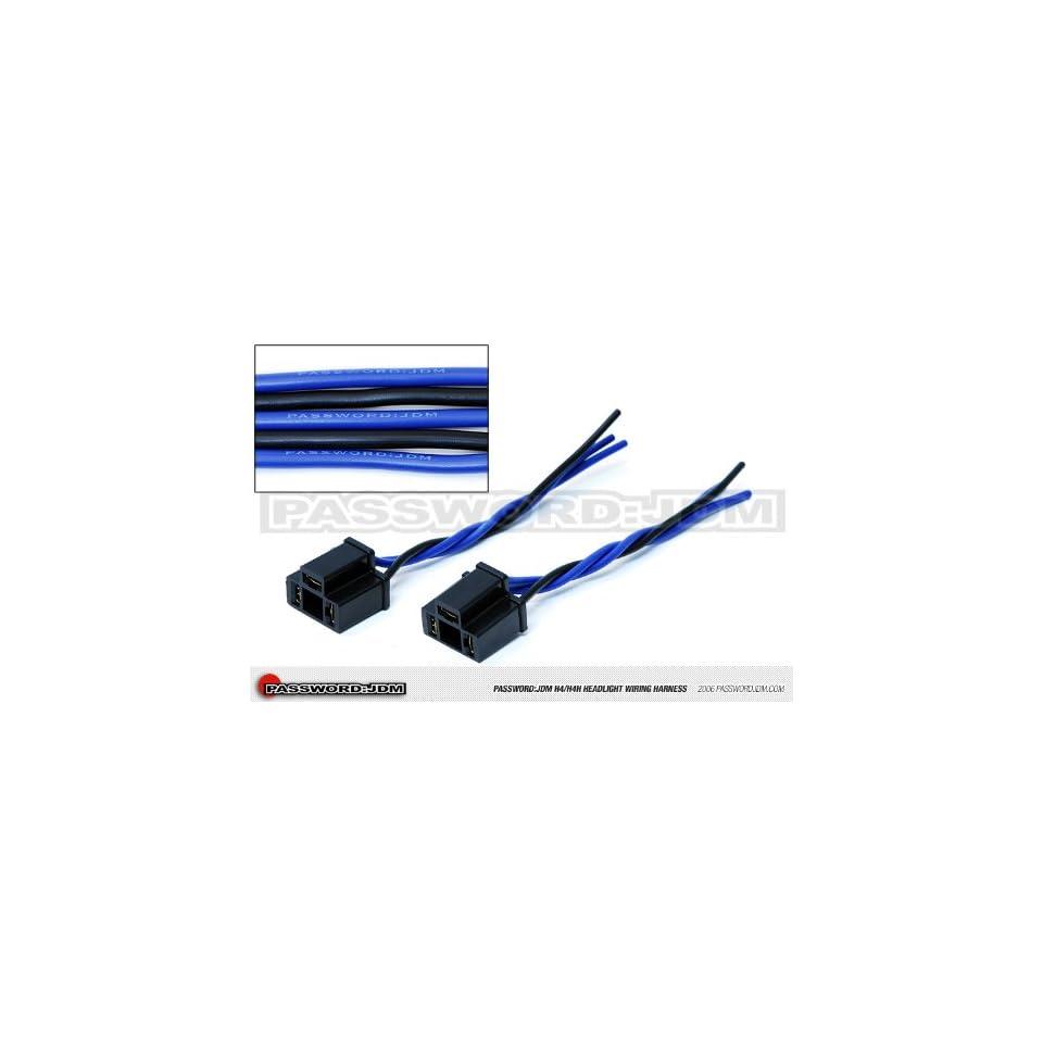 hight resolution of passwordjdm headlight wiring harness h4 h4h