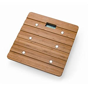 Whynter Bamboo Bathroom Scale