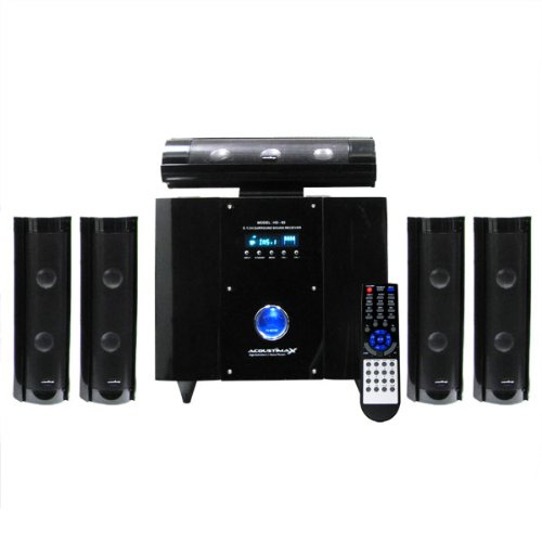 Acoustimax Hd 70 5 1 Home Theatre Surround Sound System