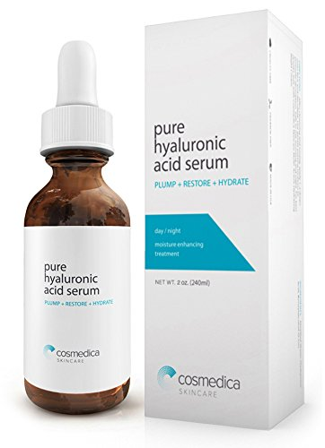 Best-Selling Hyaluronic Acid Serum for Skin- 100% Pure-Highest Quality, Anti-Aging Serum-- Intense Hydration + Moisturizer, Non-greasy, Paraben Free, Vegan-Best Hyaluronic Acid Serum (Pro Formula)