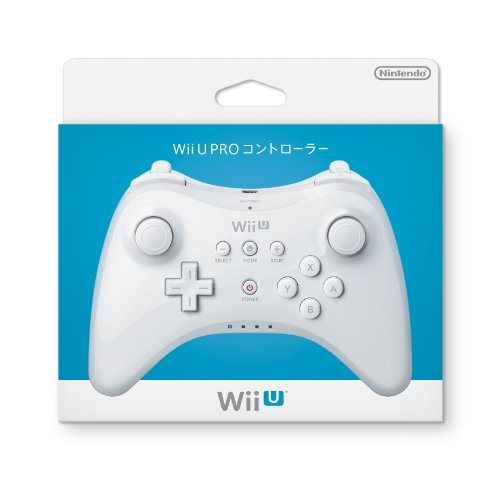 Wii U PRO コントローラー (shiro) (WUP-A-RSWA)