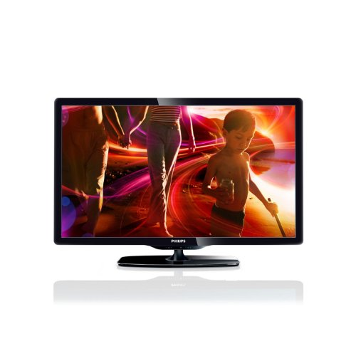 Philips 40PFL5206H 102 cm (40 Zoll) LED-Fernseher, Energieeffizienzklasse A (Full HD, 100 Hz PMR, DVB-T/C, CI+, HDMI) schwarz