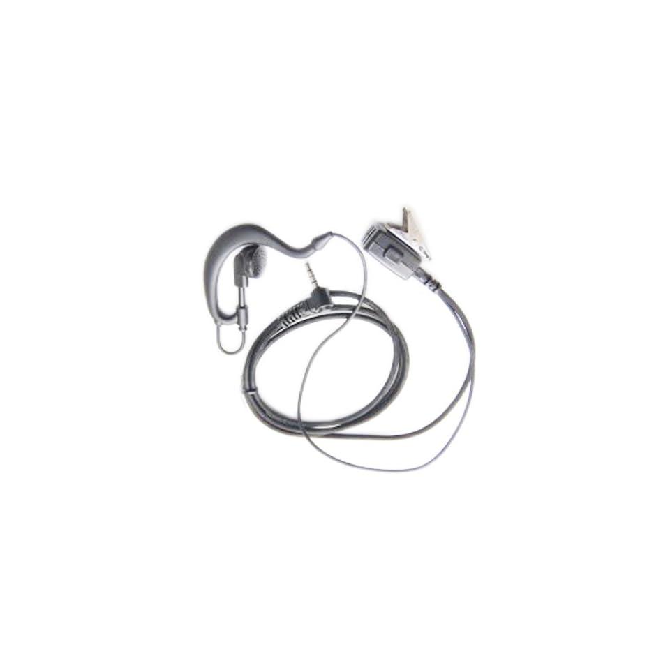 EmBest 3.5Mm G Shape Earpiece Headset Compatible For Yaesu