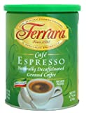 Ferrara Decaffeinated Espresso Ground Coffee, 8.75 oz