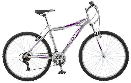 Mongoose Women's Silva Mountain Bike, 16-Inch/Small