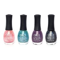 Orly Colour Blast Purple Matte Satin Business Industrial ...