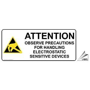 Amazon.com : Observe Precautions For Handling ESD Label