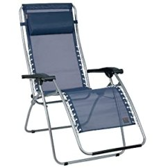 Recliner Lawn Chairs Folding Metal Outdoor Dining Lafuma Indigo Mesh Rsx Zero Gravity Patio Chair