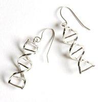 Amazon.com: DNA Double Helix Earrings: Jewelry