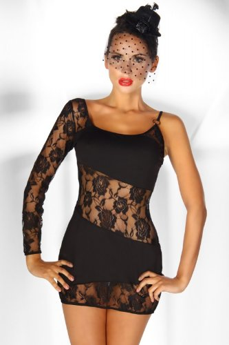 Mini-Kleid schwarz