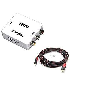Amazon.com: Musicell HDMI to AV Composite RCA CVBS Video