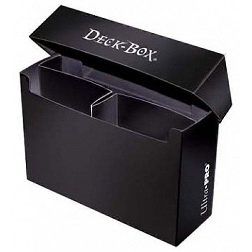Ultra Pro: Oversized Deck Box - Black (Hold 2 Decks)