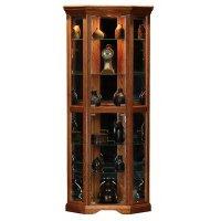unfinished kitchen cabinets: Oak Ridge Corner Curio ...