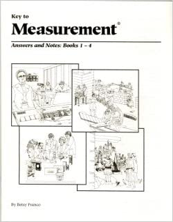 Key to Measurement: Answers and Notes: Books 1-4: Betsy