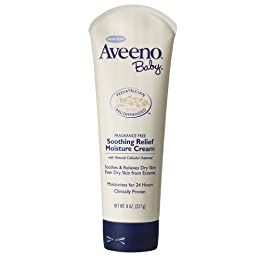 Product Image Aveeno Baby Soothing Relief Moisture Cream - 8.0 oz.