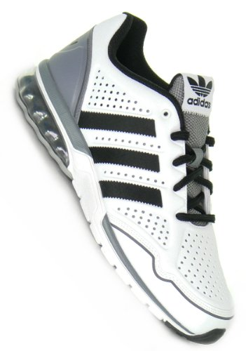 ADIDAS mega softcell rh white black grey gr. 10/44