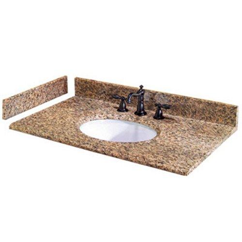 8 discount bathroom vanities ikea pegasus pe25649 25 inch montesol granite vanity top with white bowl and 8 inch spread