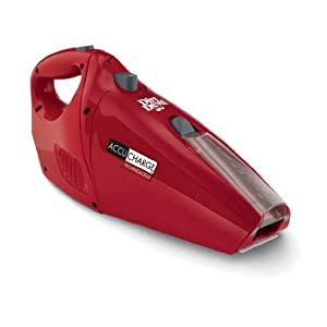 Dirt Devil Accucharge Cordless Handheld Vacuum, BD10045RED