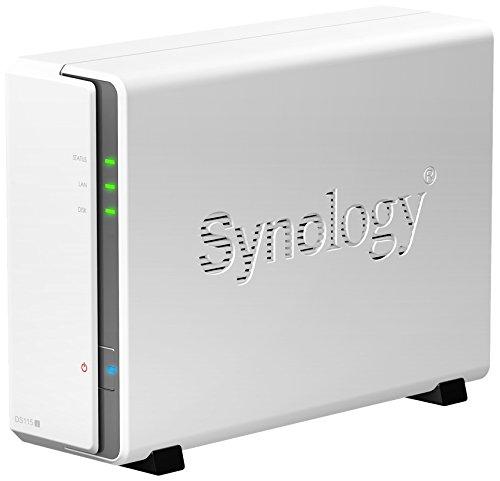 Synology DS115j 6TB (1 x 6TB WD Red) 1 Bay Desktop NAS